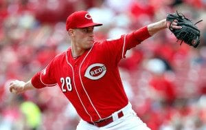 Anthony DeSclafani is expected to be a top of the rotation starter. (Photo By: Cincinnati Enquirer)