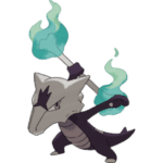 Pokemon Marowak-Alola places 2nd among fire pokémon in vgc 17