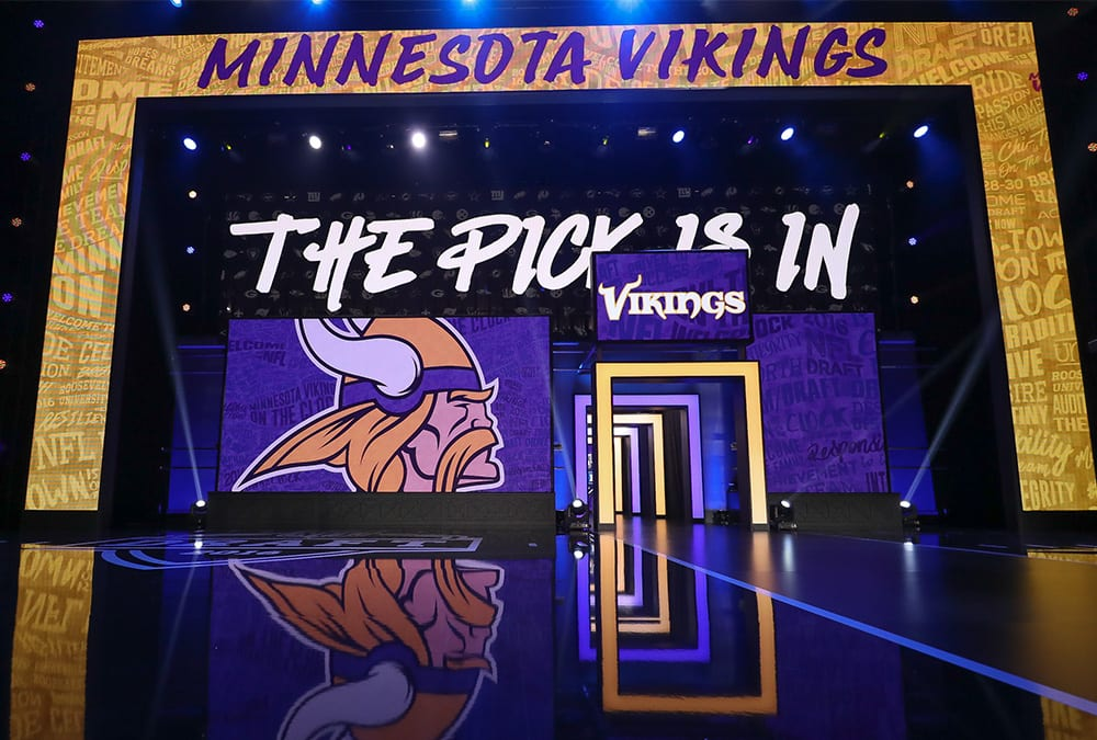 Image result for vikings draft