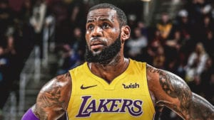Lebron to the Lakers
