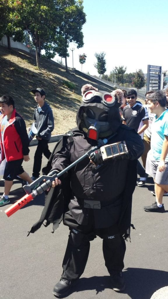 Omega Squad Teemo made a pre-game appearance.
