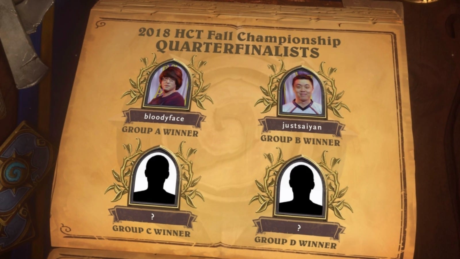 HCT Fall Championship Group A and B