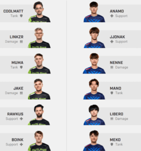 Overwatch League Houston Outlaws New York Excelsior