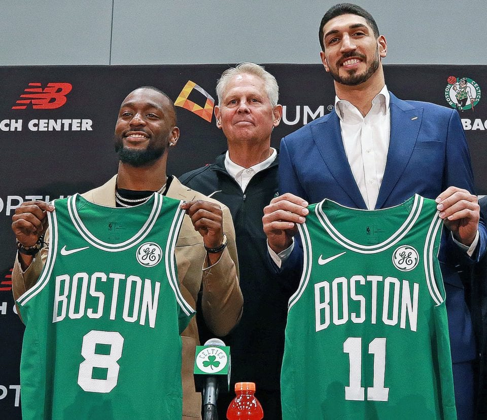 3 questions Boston Celtics