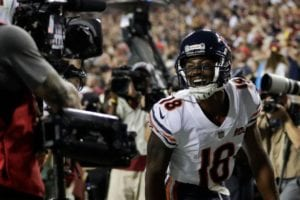 Trubisky and Bears torch the Redskins on Monday Night Football