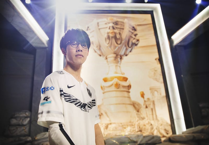 TheShy is the most OP top laner in Worlds Semifinals.