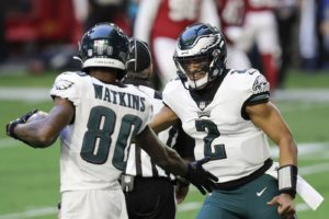 Wide receiver Quez Watkins could be the Eagles next break out star